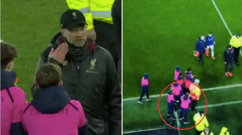 The Dad Of Everton Ballboy Reveals What He Said To Jurgen Klopp