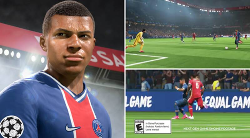 New FIFA 21 PlayStation 5 Trailer Drops And The Graphics Look Absolutely Insane