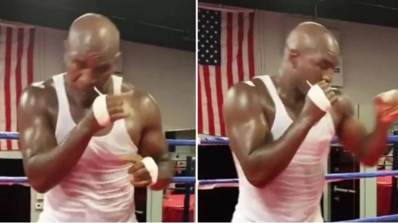 Evander Holyfield Shows His Latest Training Ahead Of Potential Comeback