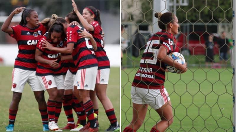 Flamengo Women's Team Beat Greminho 56-0, Averaging A Goal Every 96 Seconds