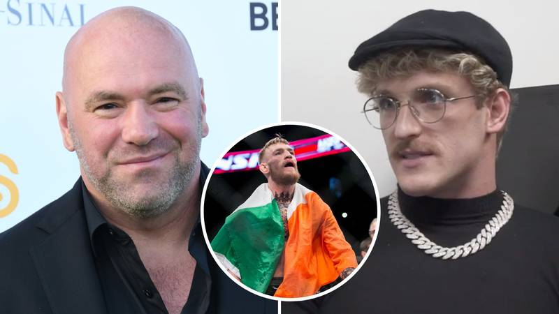 Logan Paul Calls On Dana White To Book Him In A UFC Fight Ahead Of KSI Clash