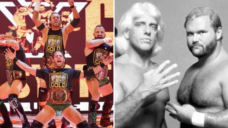 The Undisputed Era Names The Four Horsemen As Their Dream WWE Fantasy Match