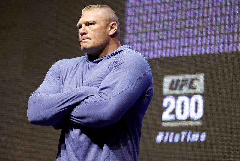 Brock Lesnar Reacts To Jon Jones Pull Out In Typical Fashion