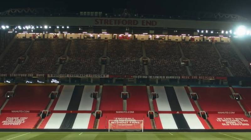 Old Trafford Is Looking Amazing Ahead Of Manchester United Vs. Sheffield United