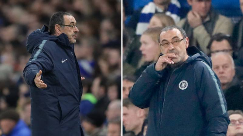 Maurizio Sarri's Actions Against Malmo Prove He's Lost His Way