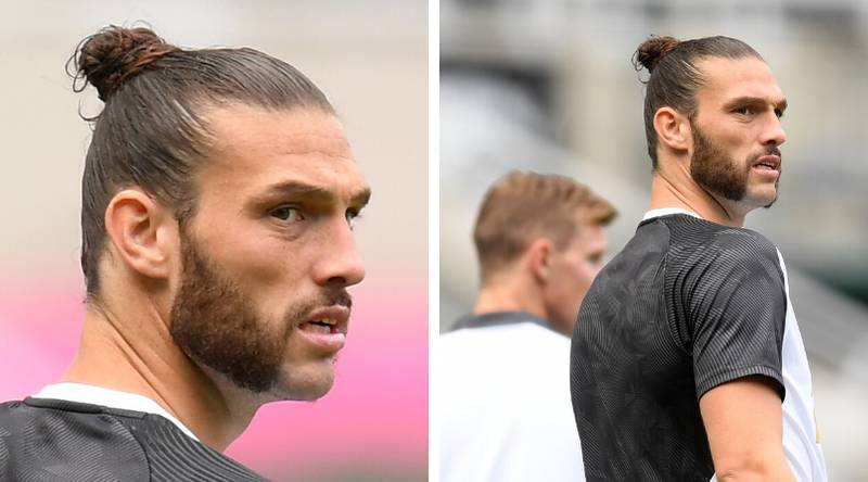 Andy Carroll Emerges From Lockdown With The Worst Beard Of All-Time
