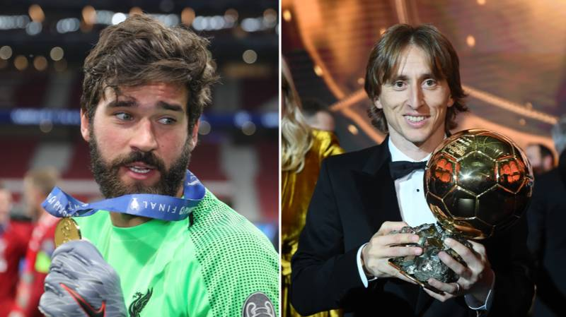 """Liverpool's Alisson Doesn't Believe He'll Win Ballon d'Or Because He's """"Just A Goalkeeper"""""""