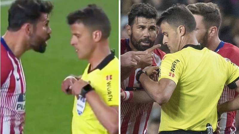 Diego Costa Given Eight Match Ban For X-Rated Comments About Referee's Mother