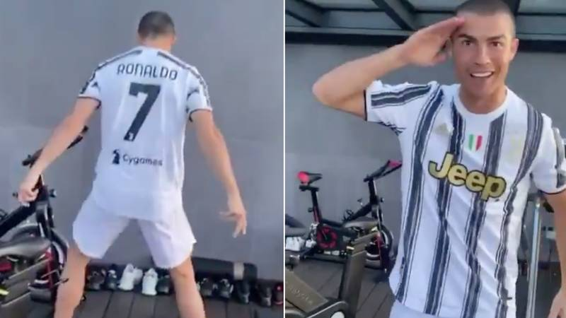 Cristiano Ronaldo Puts On Full Kit To Send Message To Juventus Ahead Of Barcelona Clash