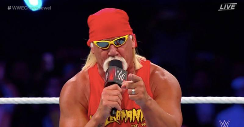 Hulk Hogan Makes His Return To WWE At Crown Jewel