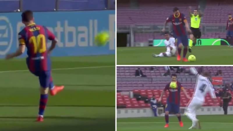 New Close-Up Footage Of Lionel Messi's Performance Against Real Madrid 'Shows What The Stats Don't'