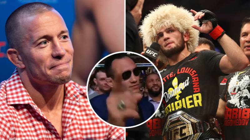 Khabib Nurmagomedov's Agent Says GSP Is Next And Doesn't 'Give A Sh*t' About Tony Ferguson