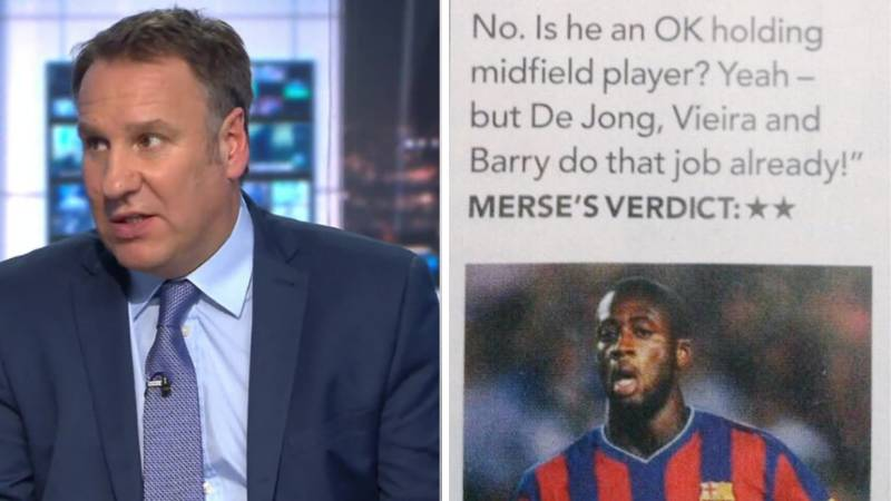 Paul Merson's 42-Word Column On Yaya Toure When He Signed For Manchester City In 2010 Is Gold