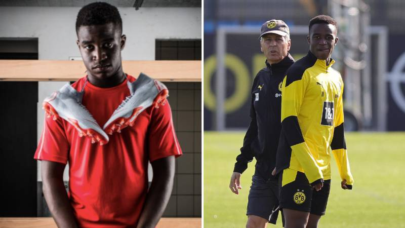 16-Year Old Borussia Dortmund Wonderkid Youssoufa Moukoko Has A Whopping £9 Million Nike Contract