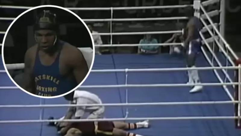 A 15-Year-Old Mike Tyson Knocking Out Joe Cortez In Eight Seconds Is Just Frightening