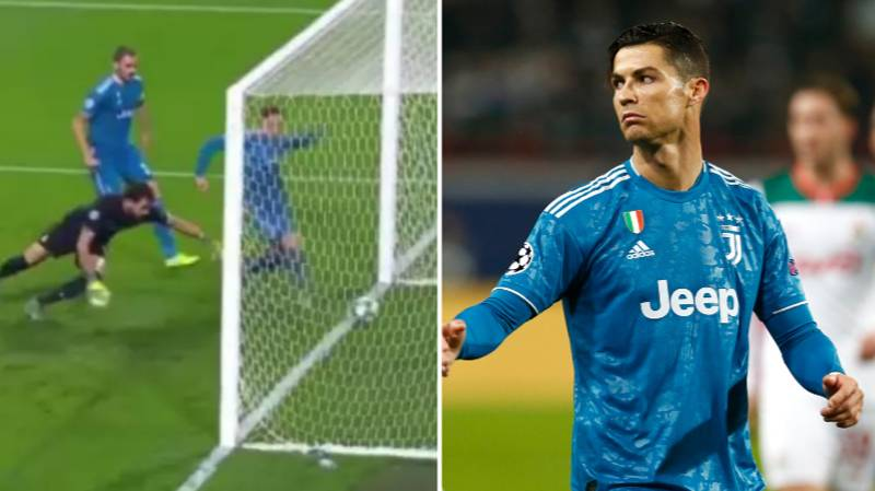 Aaron Ramsey Apologised To Cristiano Ronaldo After 'Stealing' Champions League Goal