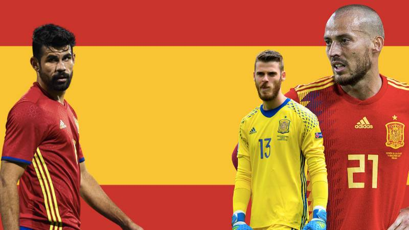 Spain's 23-Man Squad For The World Cup Has Been Leaked