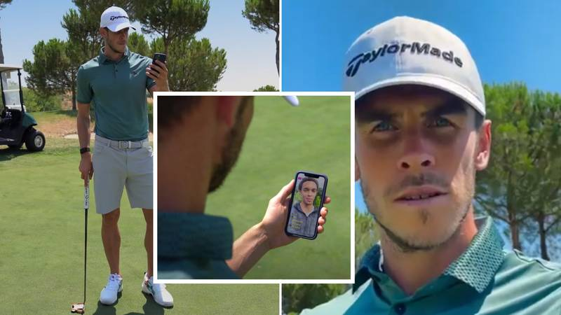 Gareth Bale Dresses As A Golfer To Troll Real Madrid In Hilarious TV Advert