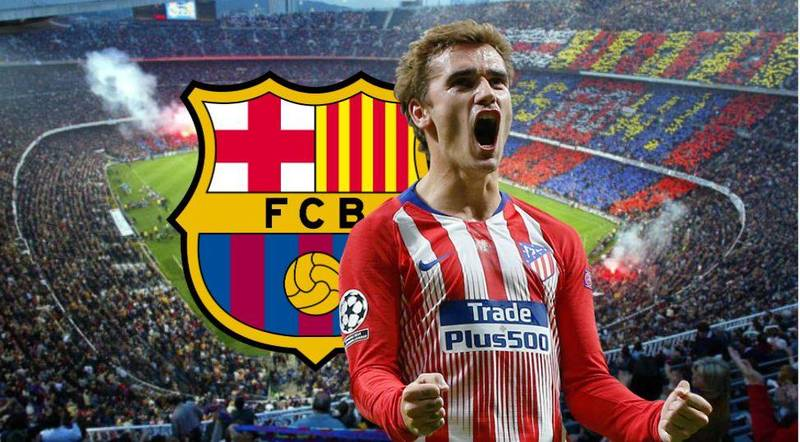 Atlético Madrid Star Antoine Griezmann Has 'Agreed To A Five-Year Deal' With Barcelona