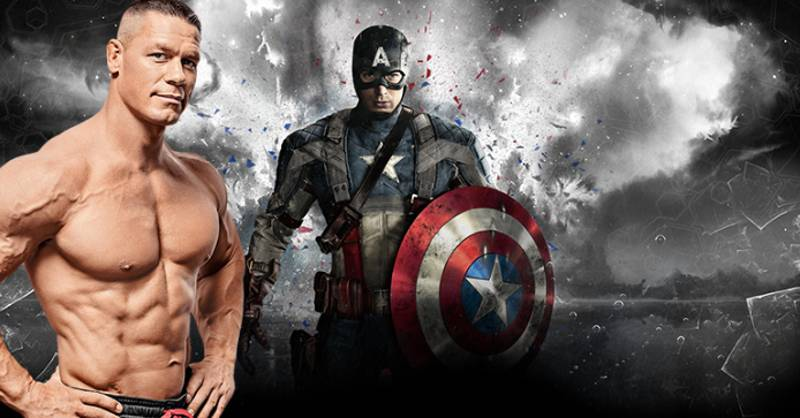 John Cena Wants To 'Totally' Play Captain America After Chris Evans