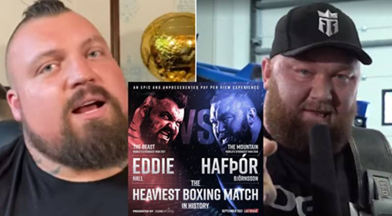 Eddie Hall Vs 'The Mountain' Is Set For September 2021