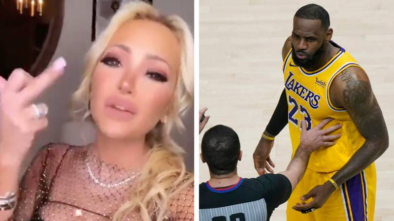 NBA Fan Kicked Out Of Los Angeles Lakers Game After Altercation With LeBron James
