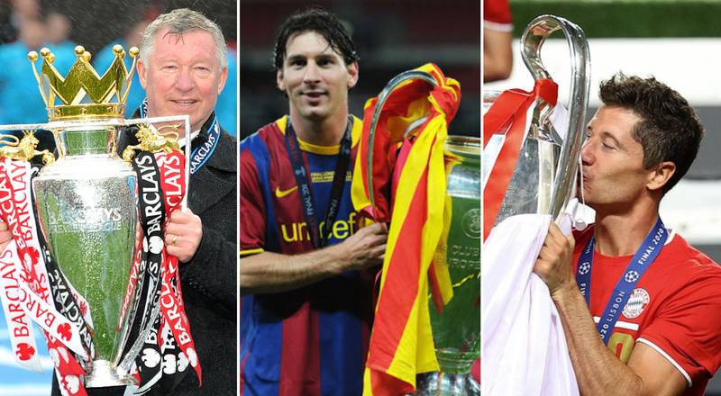 The 21 Clubs With The Most Trophies Won In Europe's Top Five Leagues