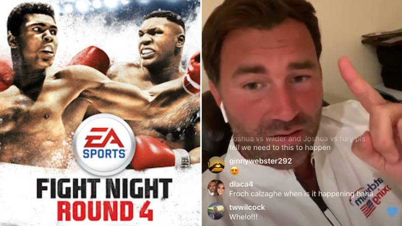 Eddie Hearn Suggests Making His Own Boxing Game To 'Rival Fight Night'