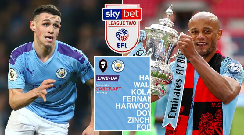 Fan Mocks Up Manchester City's Line Up For League Two