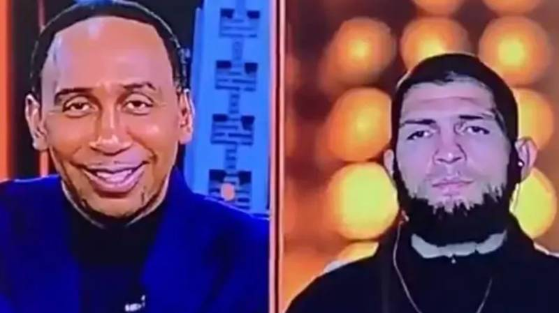 Khabib Nurmagomedov's Savage Response To Stephen A. Smith's Conor McGregor Question