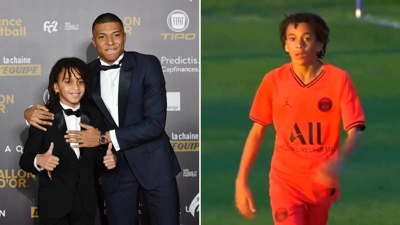 Real Madrid Want To Sign Kylian Mbappe's 13-Year-Old Brother Ethan