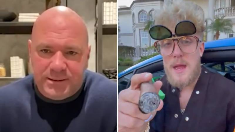 Dana White Has Finally Responded To Jake Paul's Disgusting Conor McGregor Callout