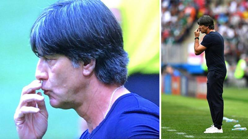 Joachim Low Is Doing Joachim Low Things On The Bench Again