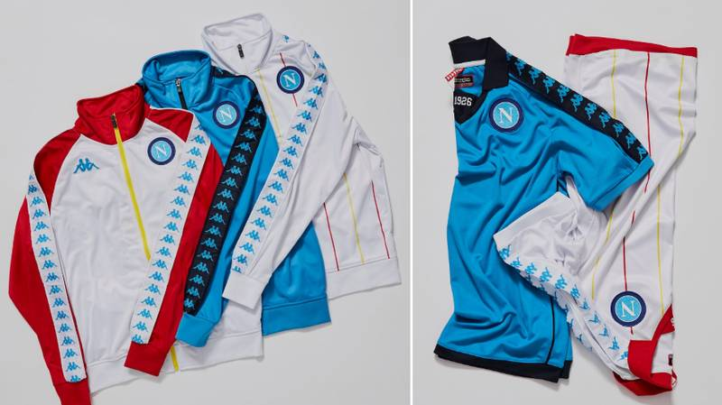 Kappa Link Up With Napoli To Release Stunning Retro Jackets And Shirts
