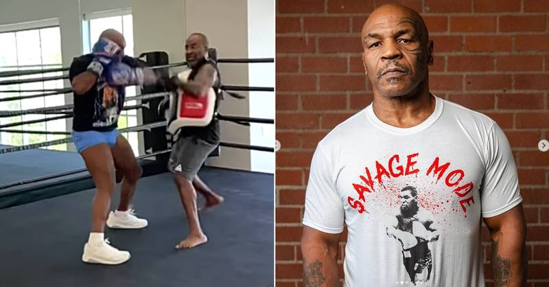 'Don't Blink': Mike Tyson Shows Off Insane Speed In New Training Video