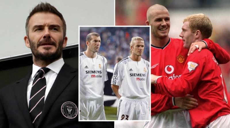 David Beckham's Greatest Team Of Players He Played With Is Full Of Footballing Legends
