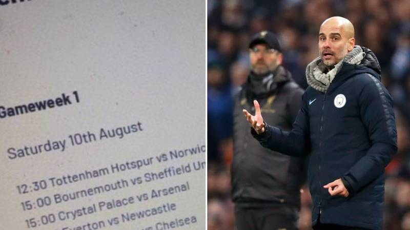 Premier League 2019/20 Fixtures 'Leaked' For Opening Day Of The New Season