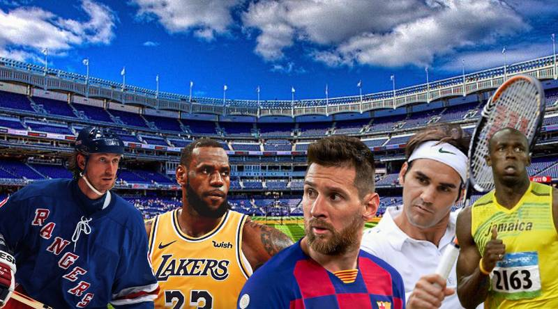 The 50 Greatest Sports Athletes Of All Time Have Been Named And Ranked