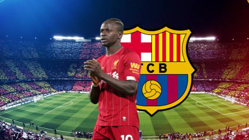 Sadio Mane Could Cost Barcelona A World Record £225 Million Fee This Summer