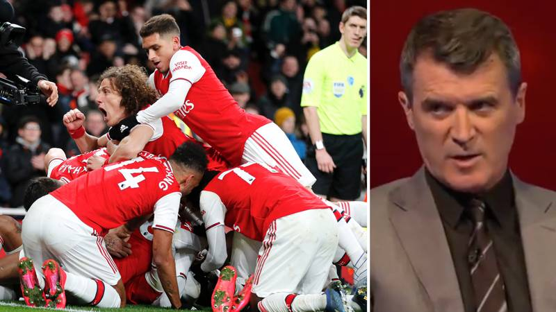 Roy Keane Brutally Tears Into Arsenal's 'Ridiculous' Celebrations Against Newcastle