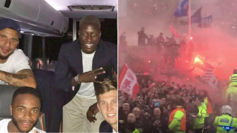 The Shocking Footage Filmed Inside Manchester City's Team Bus