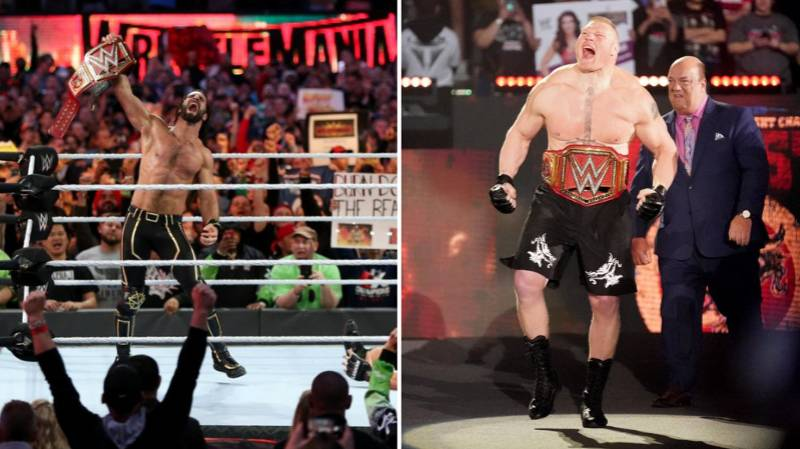 Seth Rollins Claims Brock Lesnar's WWE Universal Title Run Devalued The Title