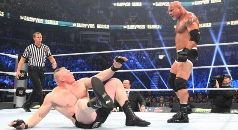 The Reason Goldberg Battered Brock Lesnar In 85 Seconds Has Been Revealed