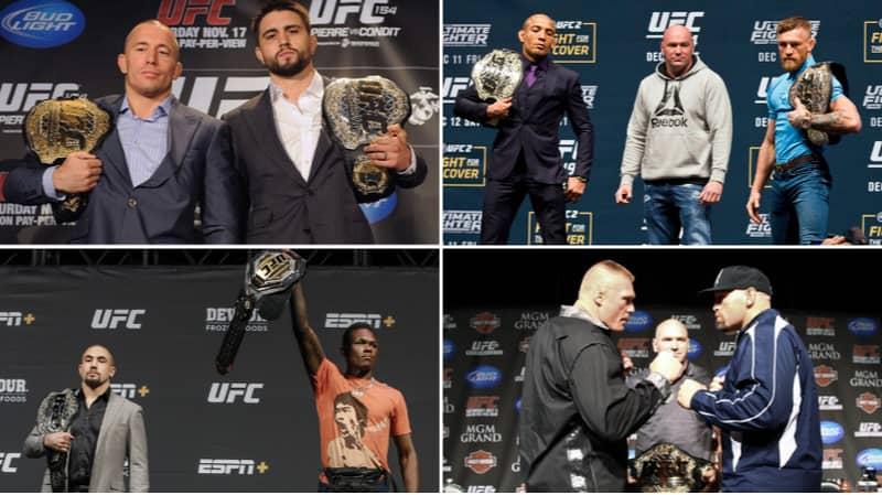 Ranking Every UFC Unification Bout Since 2003 Ahead Of Khabib Nurmagomedov Vs. Justin Gaethje