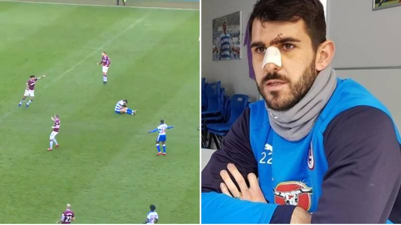 Reading's Nelson Oliveira Has Finally Reacted To Tyrone Mings' Challenge And He's Not Happy