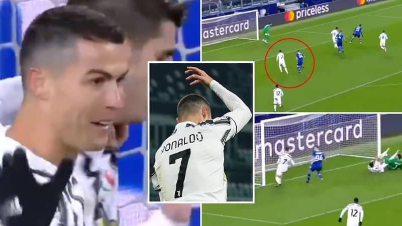 Cristiano Ronaldo Scores 750th Career Goal During Juventus 3-0 Dynamo Kiev