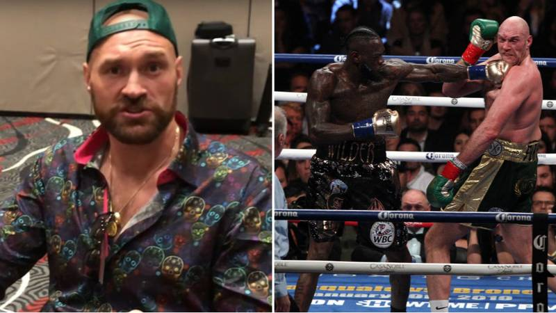 Tyson Fury Drank Four Pints Of Beer The Night Before Deontay Wilder Fight