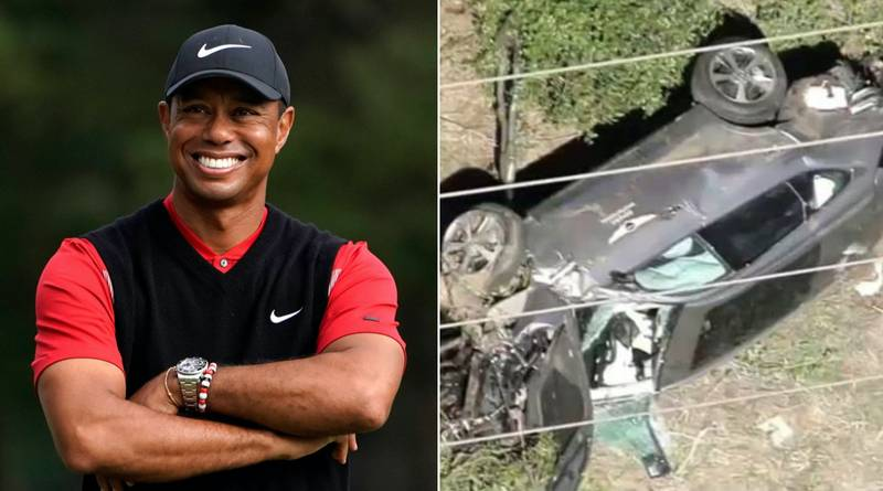 Golf Legend Tiger Woods Rushed To Hospital After Being Injured In Car Crash In Los Angeles