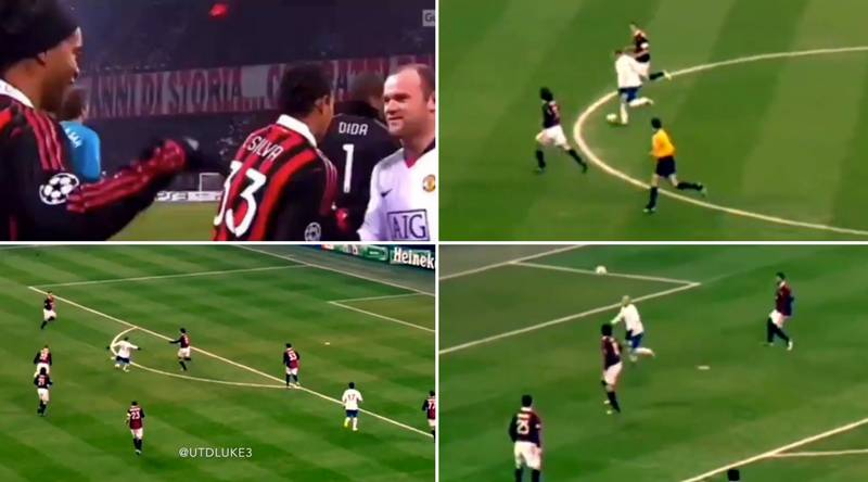 Wayne Rooney Destroying A Peak AC Milan Shows He Was Unstoppable At His Best