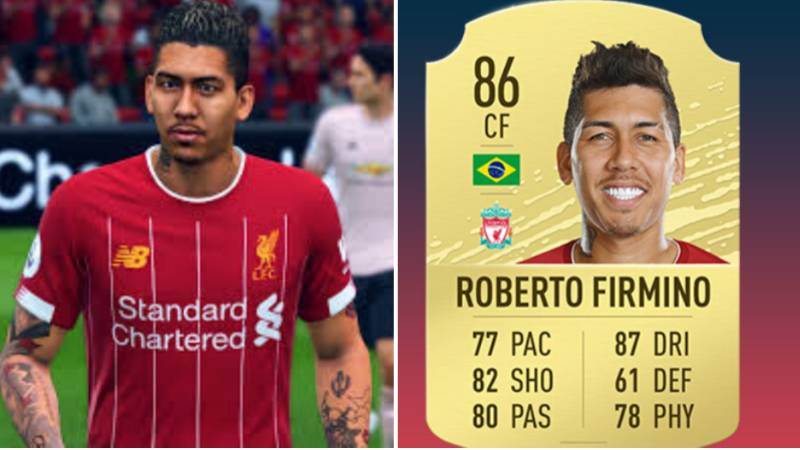 Roberto Firmino Now Has Five-Star Skills On FIFA 20